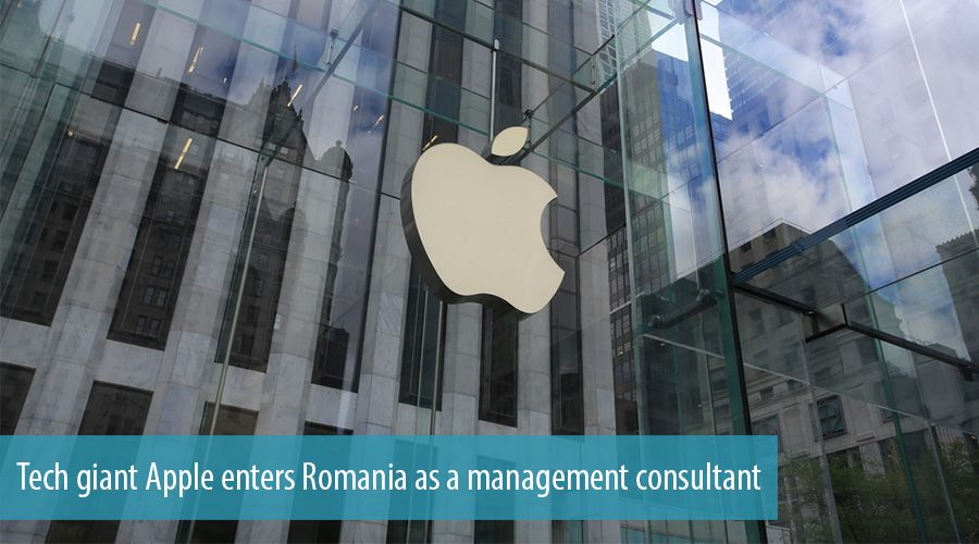 Tech giant Apple enters Romania as a management consultant