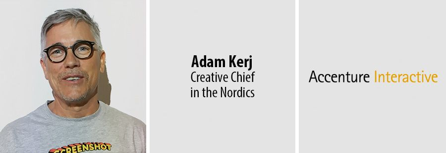 Advertising veteran Adam Kerj joins Accenture Interactivehas in Nordics