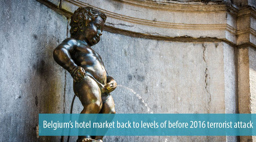 Belgium's hotel market back to levels of before 2016 terrorist attack