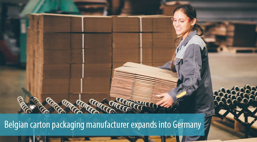 Belgian carton packaging manufacturer expands into Germany