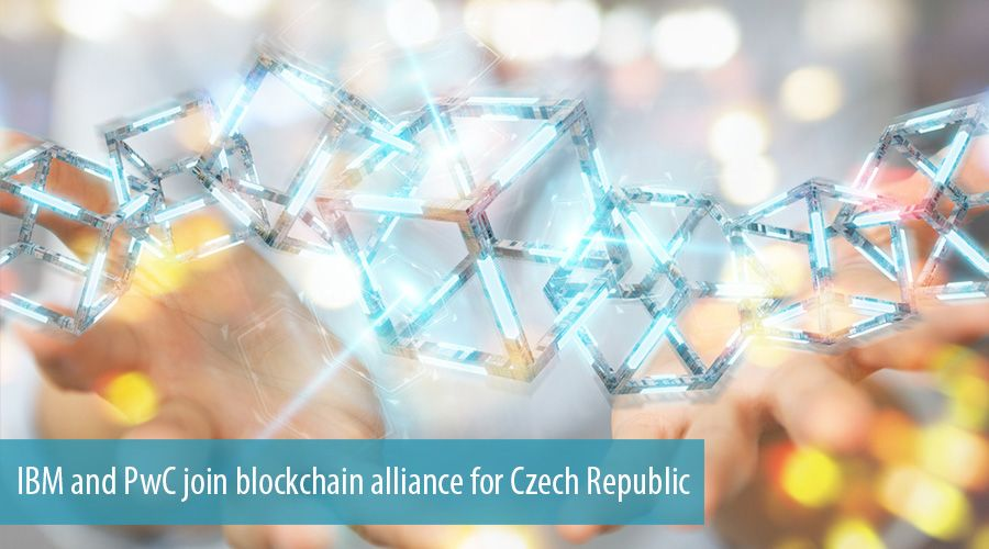 IBM and PwC join blockchain alliance for Czech Republic