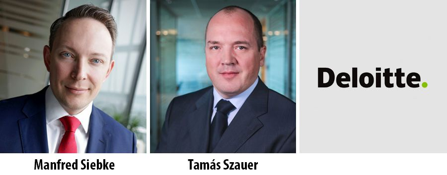 Manfred Siebke and Tamas Szauer - Deloitte