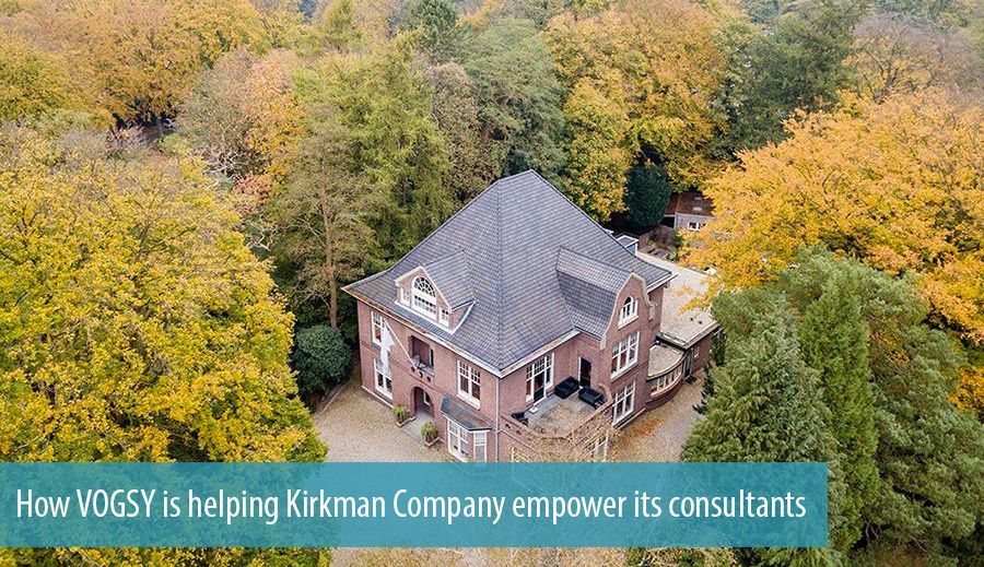 How VOGSY is helping Kirkman Company empower its consultants