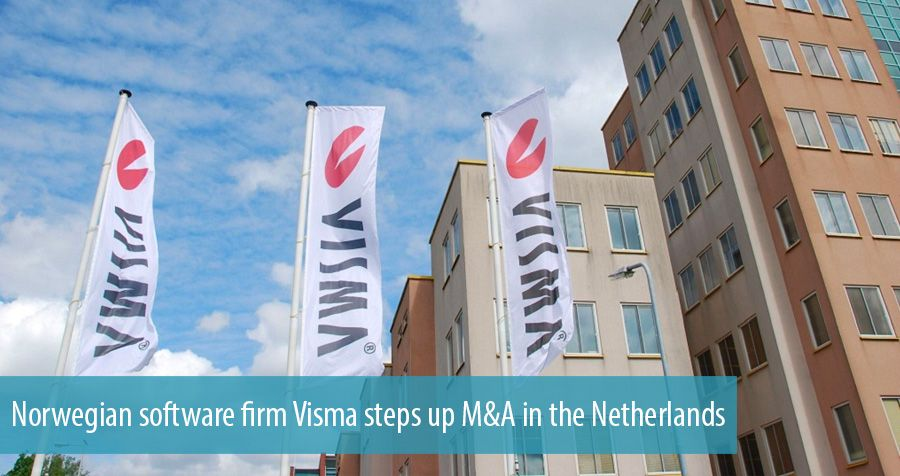 Norwegian software firm Visma steps up M&A in the Netherlands