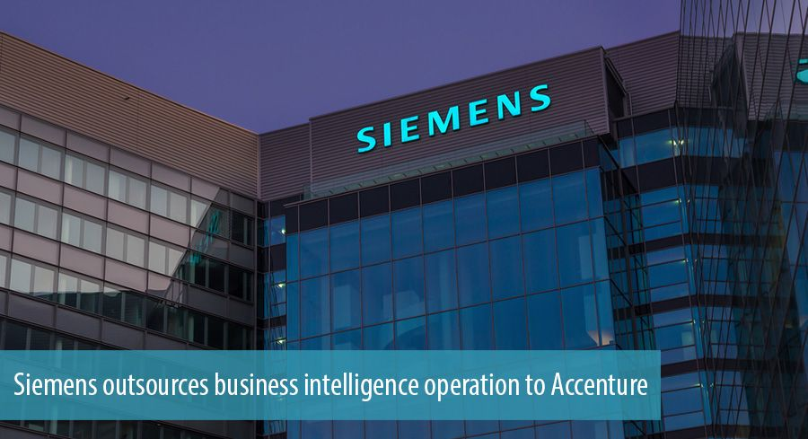 Siemens outsources business intelligence operation to Accenture