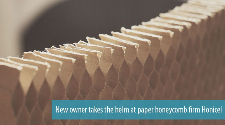 New owner takes the helm at paper honeycomb firm Honicel