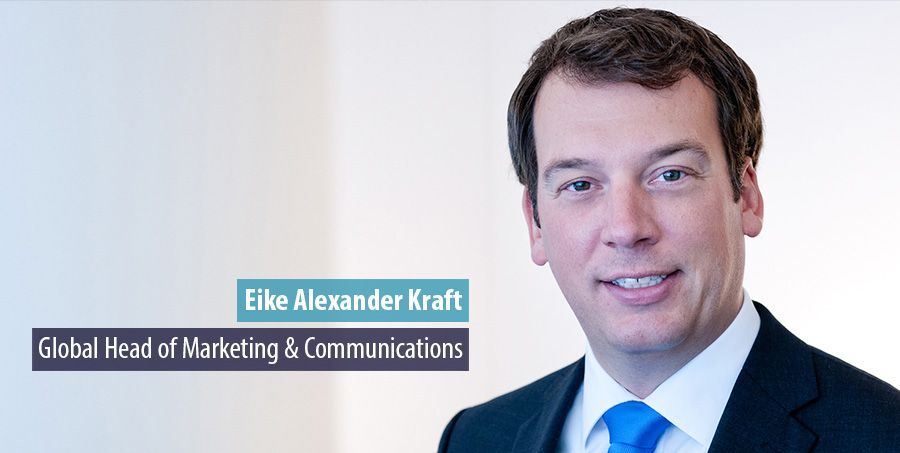Eike Alexander Kraft leads Roland Berger's Marketing & PR team