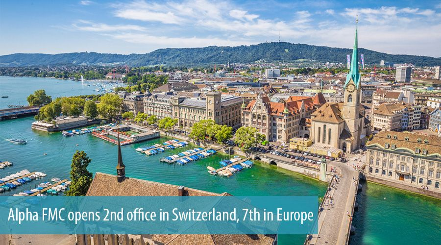 Alpha FMC opens 2nd office in Switzerland, 7th in Europe