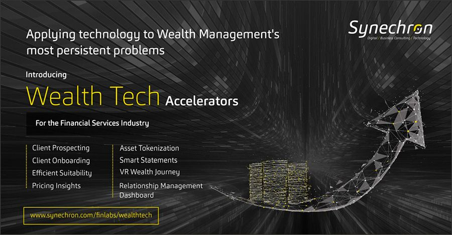 Synechron launches tech offerings for wealth management industry