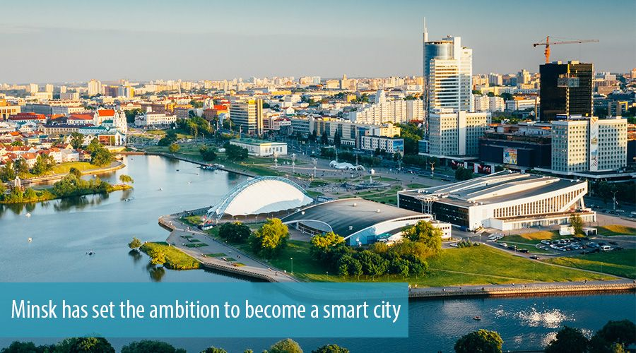 Minsk has set the ambition to become a smart city