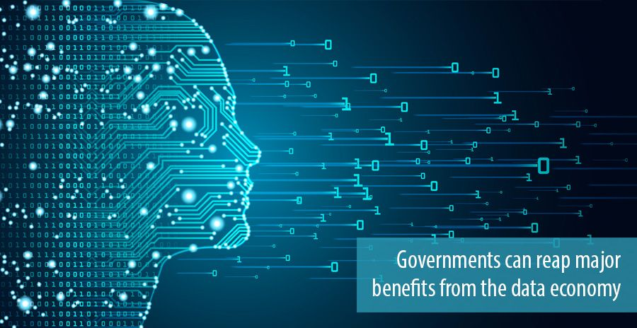 Governments can reap major benefits from the data economy