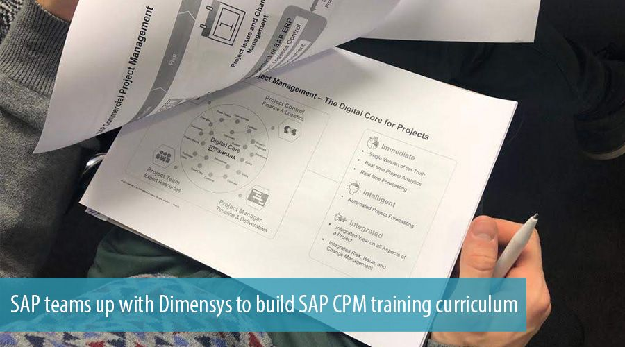 SAP teams up with Dimensys to build SAP CPM training curriculum