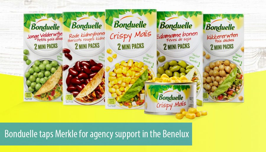 Bonduelle taps Merkle for agency support in the Benelux