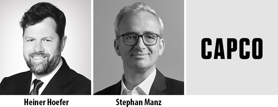 Heiner Hoefer and Stephan Manz join Capco as partner