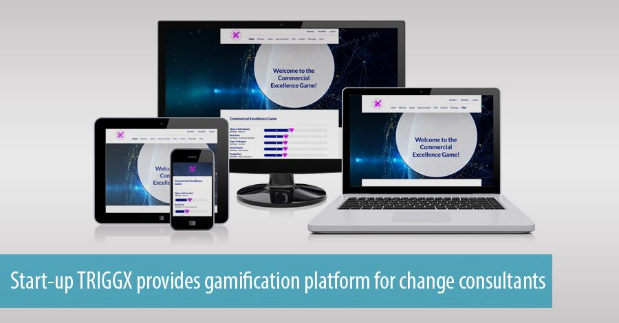 Start-up TRIGGX provides gamification platform for change consultants