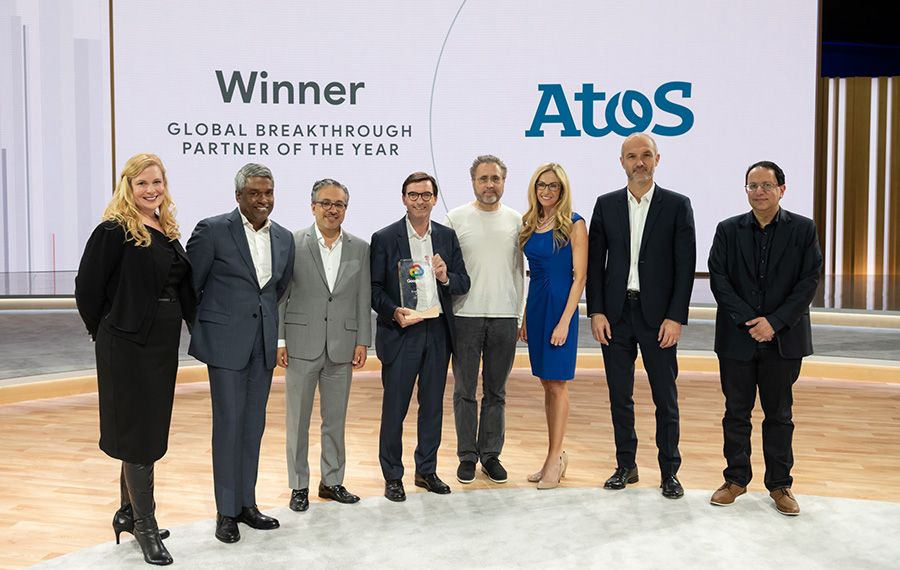 Atos wins Google Cloud Award