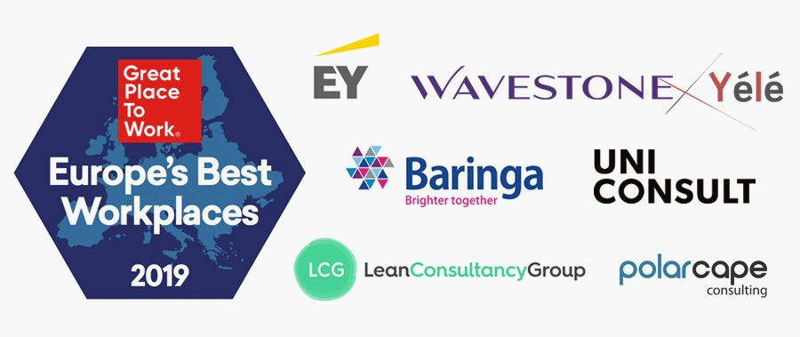 Seven consulting firms recognised as one of Europe's top employers