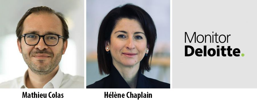 Mathieu Colas and Hélène Chaplain join Monitor Deloitte France