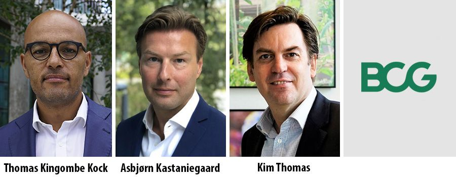 Thomas Kingombe Kock, Asbjorn Kastaniegaard and Kim Thomas - BCG