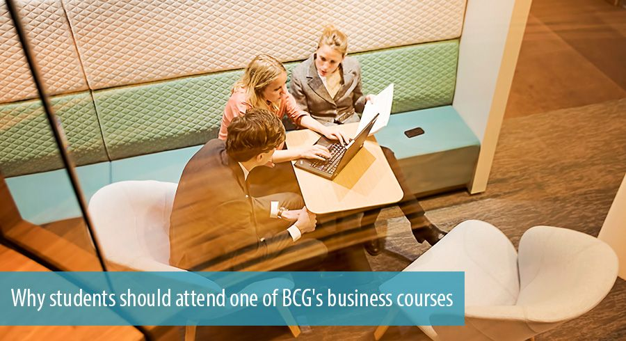 Why students should attend one of BCG's business courses