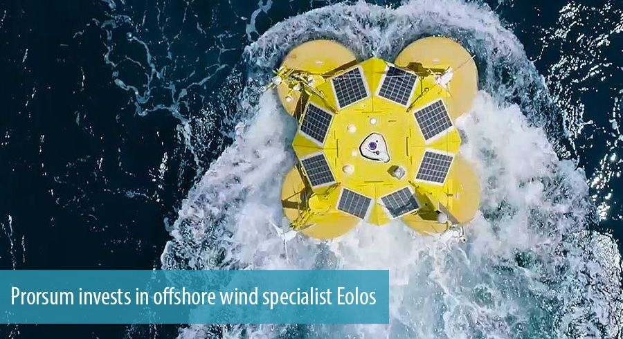 Prorsum invests in offshore wind specialist Eolos