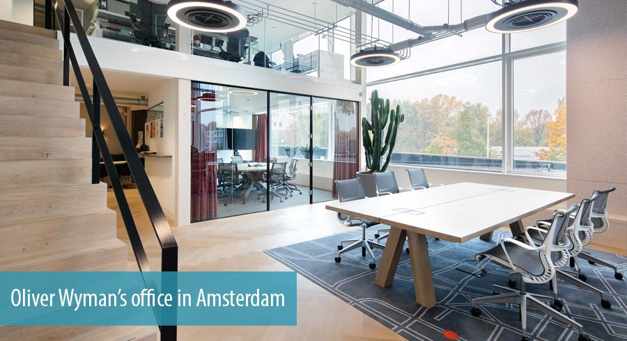 Oliver Wyman's office in Amsterdam