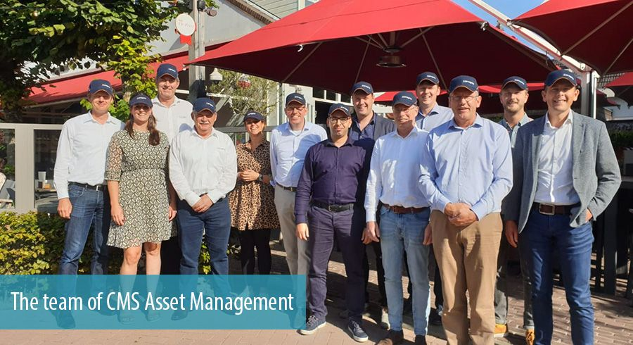 The team of CMS Asset Management