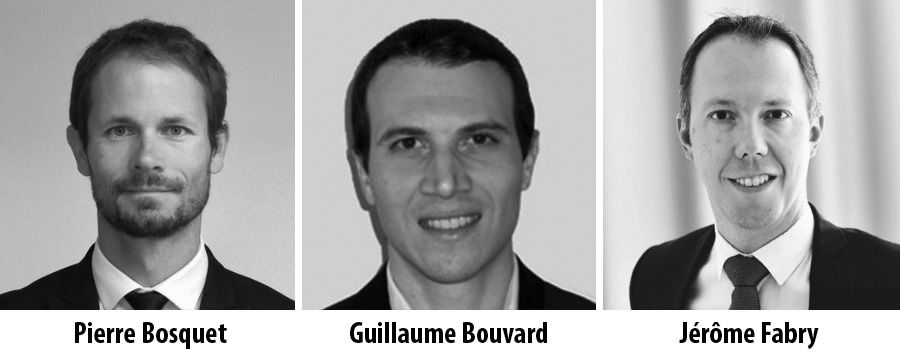 Pierre Bosquet, Guillaume Bouvard and Jerome Fabry