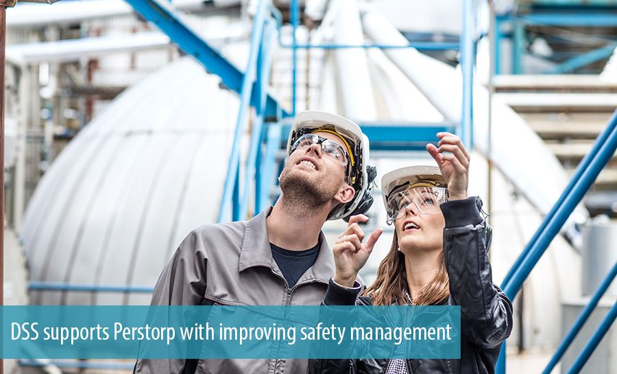 DSS supports Perstorp with improving safety management
