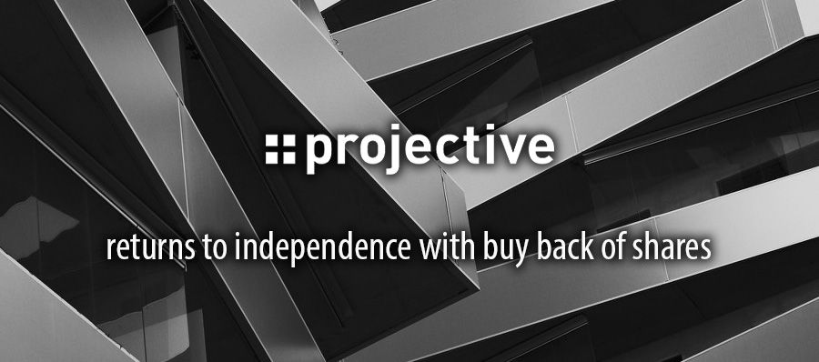 Projective returns to independence with buy back of shares