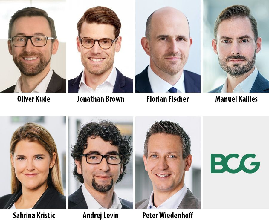 Oliver Kude, Jonathan Brown, Florian Fischer, Manuel Kallies, Sabrina Kristic, Andrej Levin and Peter Wiedenhoff- BCG