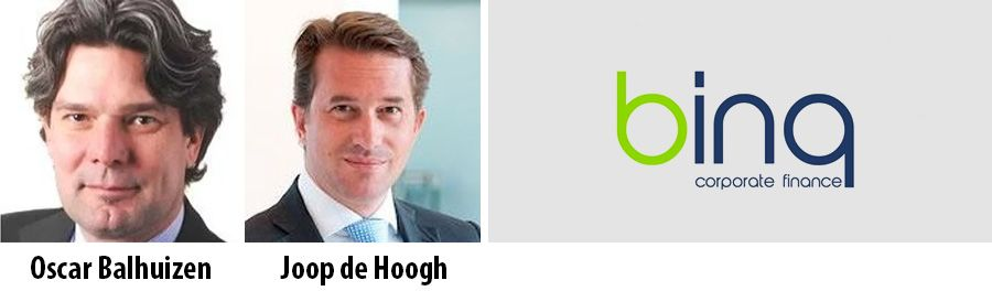Oscar Balhuizen, Joop de Hoogh, Binq Corporate Finance