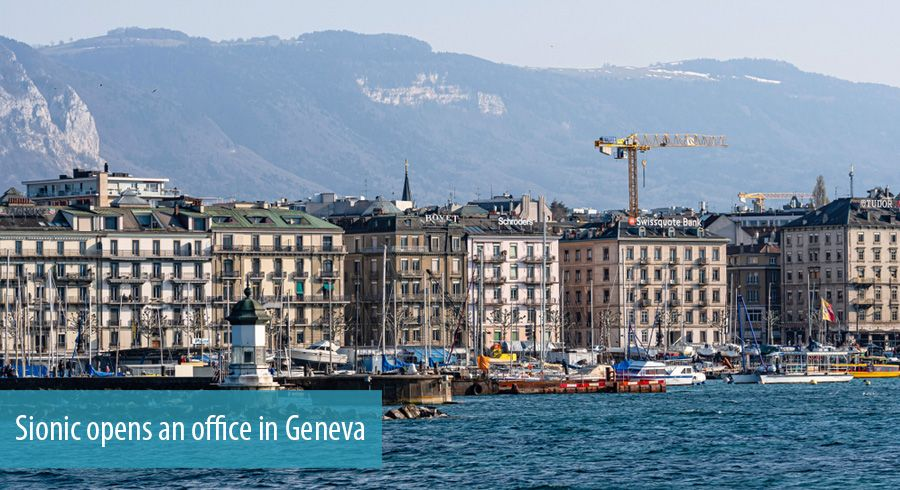 Sionic opens an office in Geneva