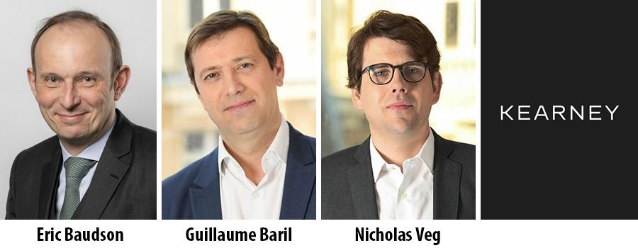 Eric Baudson, Guillaume Baril and Nicholas Veg partner at Kearney