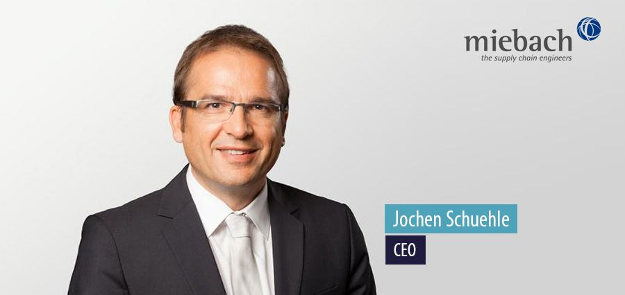 Jochen Schuehle, CEO at Miebach Consulting