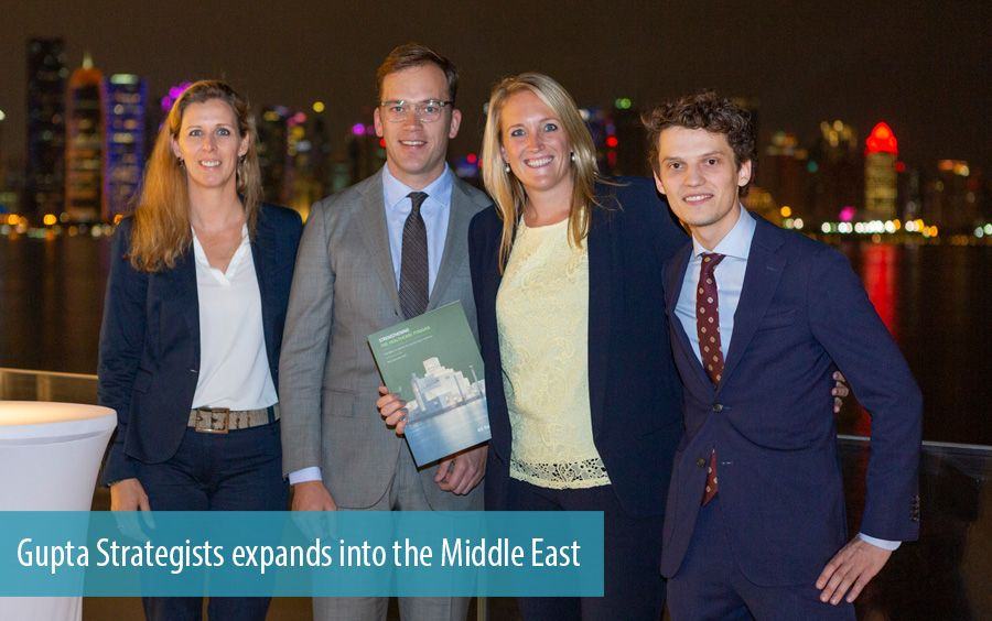 Gupta Strategists expands into the Middle East