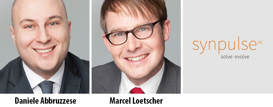 Daniele Abbruzzese and Marcel Loetscher partner at Synpulse