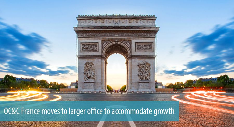 OC&C France moves to larger office to accommodate growth