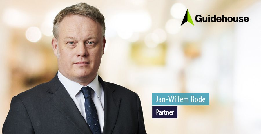 Jan-Willem Bode, partner at Guidehouse