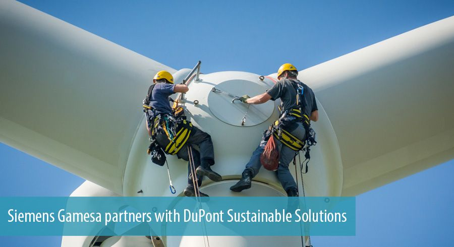 Siemens Gamesa partners with DuPont Sustainable Solutions