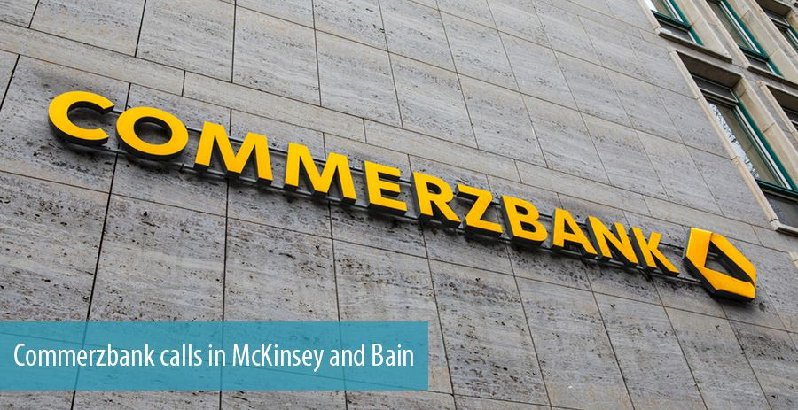 Commerzbank calls in McKinsey and Bain