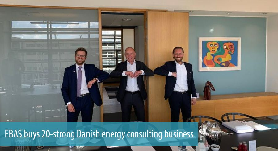 EBAS buys 20-strong Danish energy consulting business