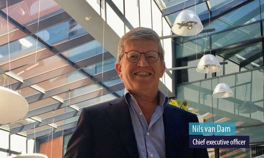 Nils van Dam, chief executive officer, Milcobel