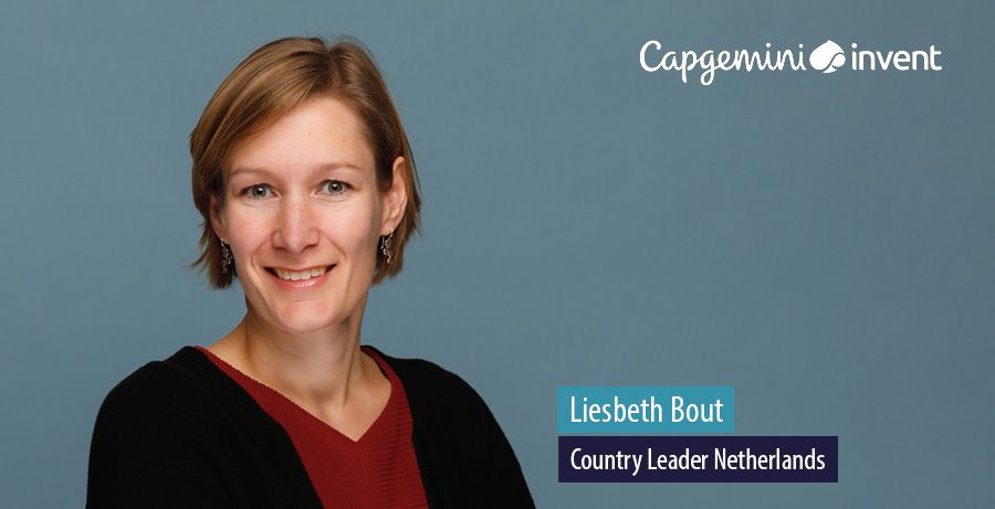 Liesbeth Bout, Country Leader Netherlands at Capgemini Invent