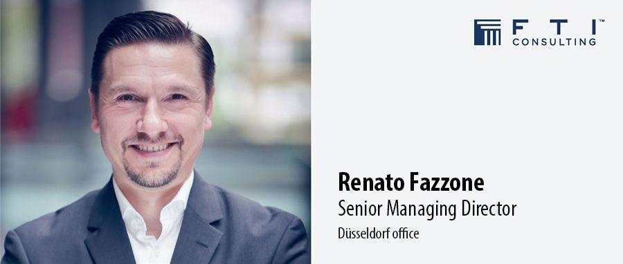 Renato Fazzone, Senior Managing Director - FTI Consulting