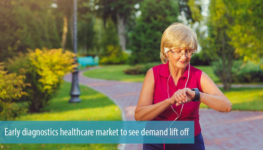 Early diagnostics healthcare market to see demand lift off