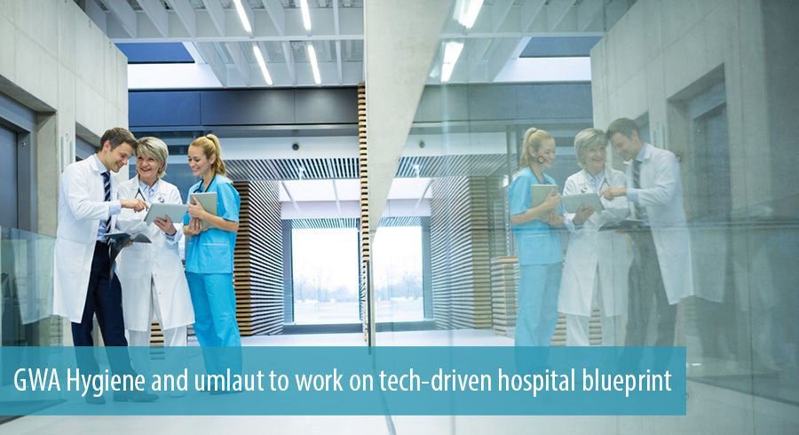 GWA Hygiene and umlaut to work on tech-driven hospital blueprint