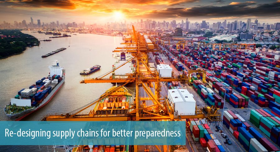 Re-designing supply chains for better preparedness