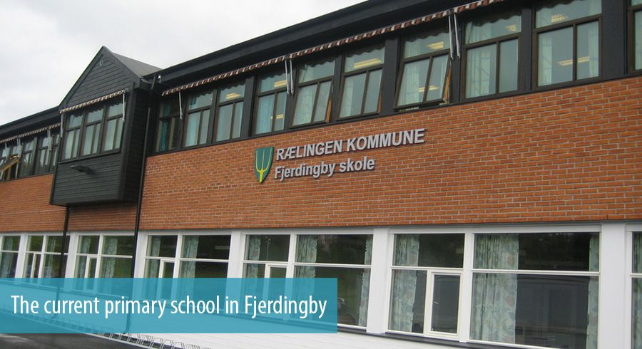 The current primary school in Fjerdingby