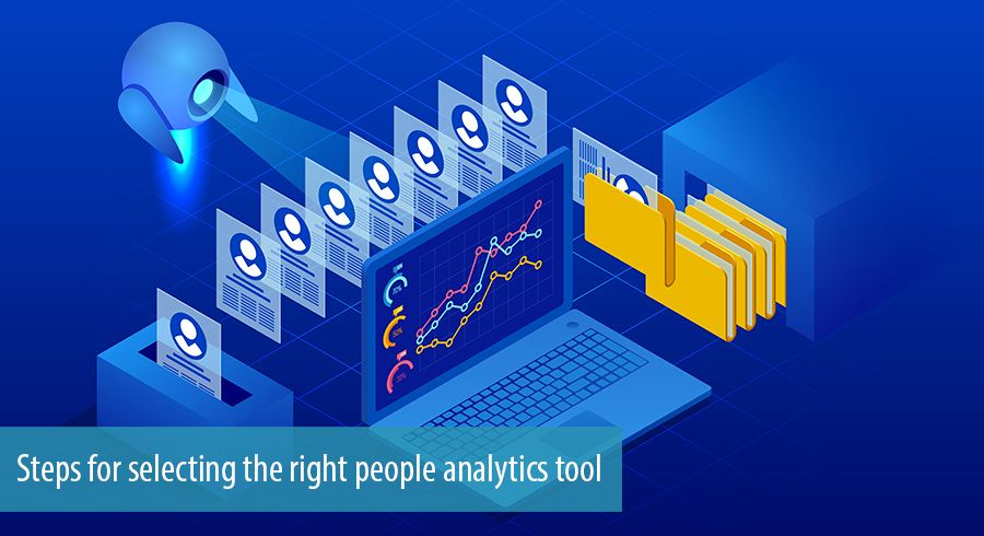 Steps for selecting the right people analytics tool
